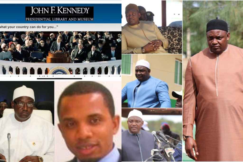 Gambia: The Question President Barrow asked is still waiting for Dr. Ismaila Ceesay to answer.