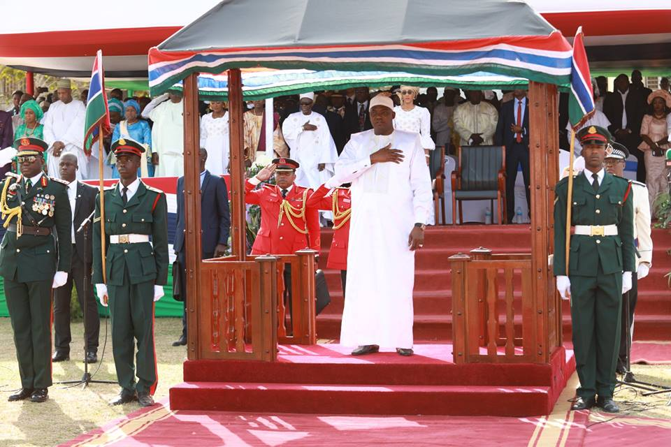 THE PRESIDENT AND THE VICE PRESIDENT AT THE 54TH INDEPENDENT CELEBRATION GROUND