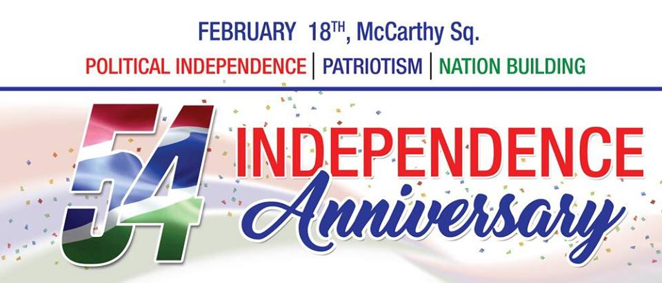 Happy 54th Independence anniversary