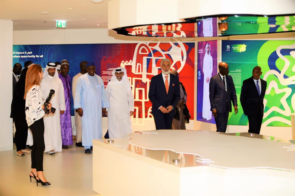 PRESIDENT BARROW INSPIRED BY QATAR'S 2022 WORLD CUP PLANS